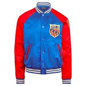 Polo NWT Varsity Inspired Jacket